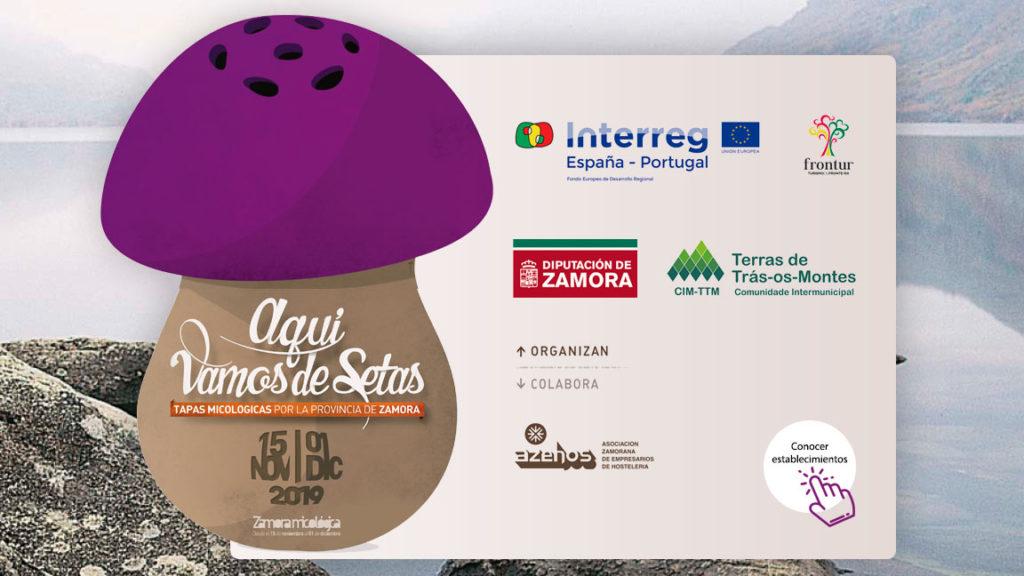 Tapas Micológicas por la provincia de Zamora. 15 noviembre a 1 diciembre de 2019